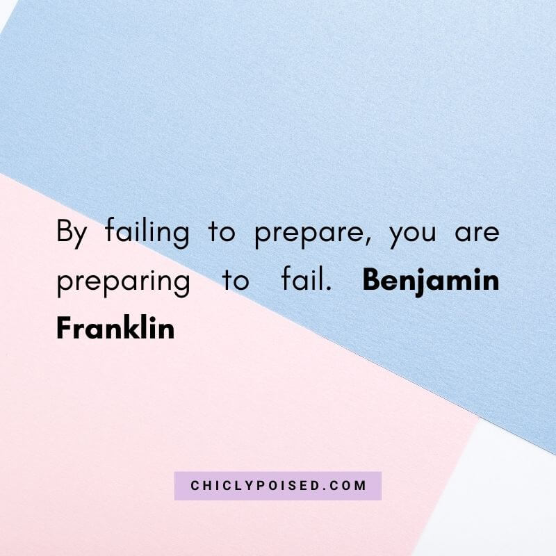 By failing to prepare you are preparing to fail. Benjamin Franklin Quotes To Inspire 7 of 30