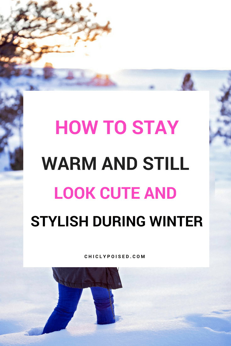 Complement Your Winter Style | Chiclypoised.com