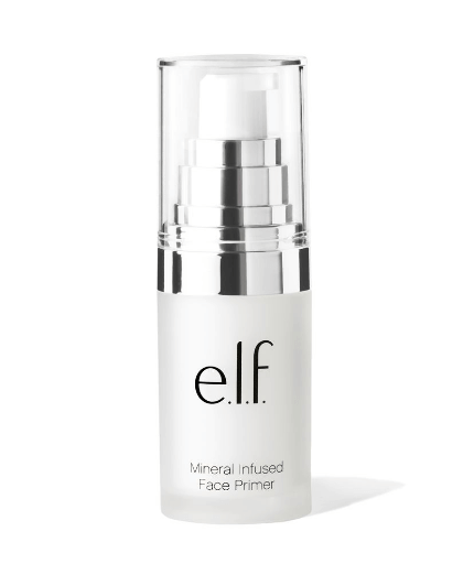 ELF Cosmetics Mineral Infused Face Primer | Best Oil Control Primer For Oily Girls | Chiclypoised.com