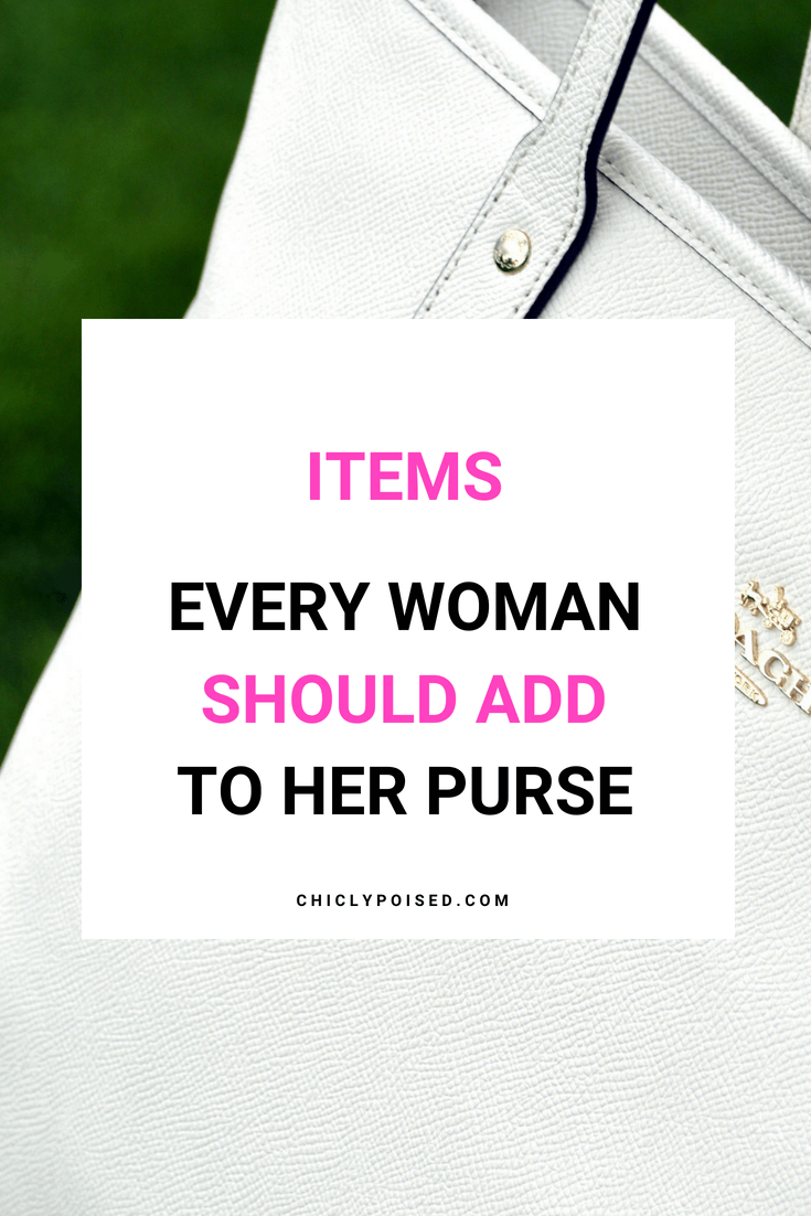 Good Items Every Woman Should Have In Their Purse