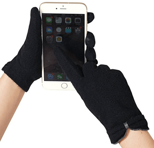 Touchscreen Winter Gloves For Winter  | How To Stay Warm and Still Look Cute and Stylish in Winter