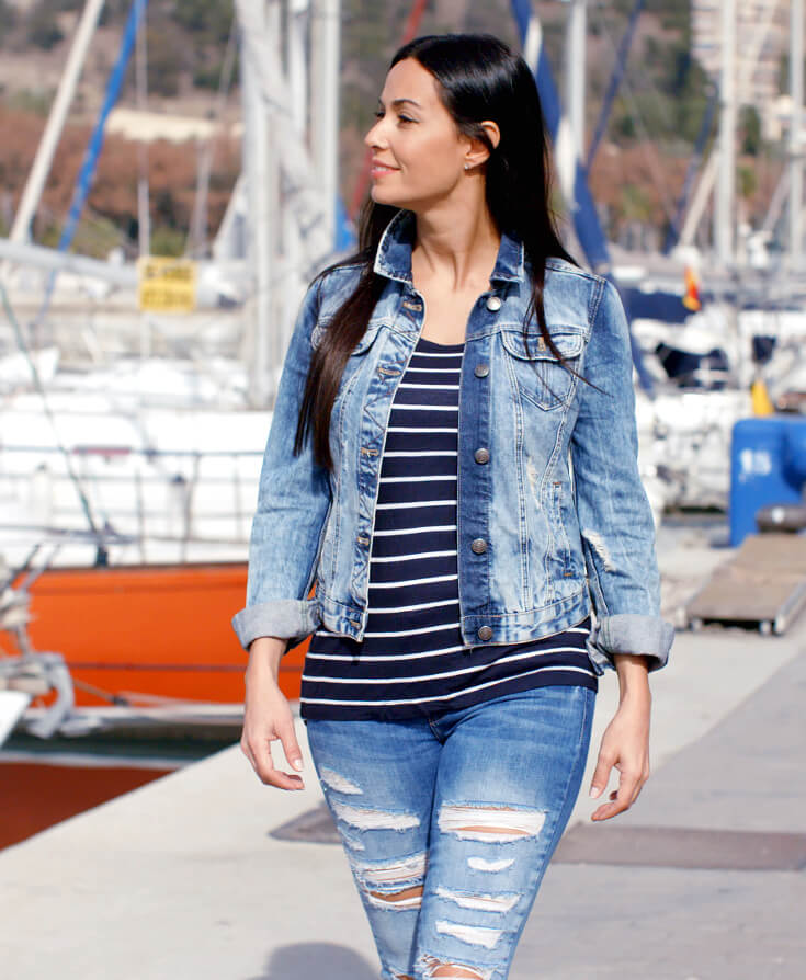 How To Wear Denim On Denim Looks