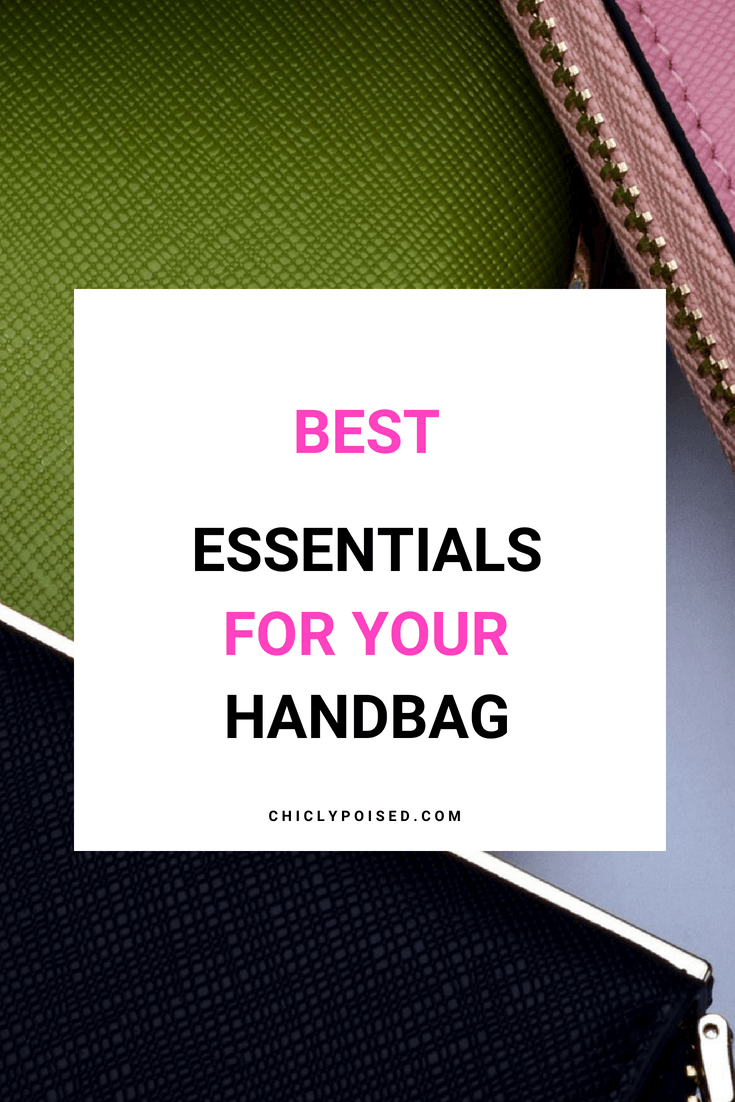 The Best Essentials For The Everyday Woman Handbag