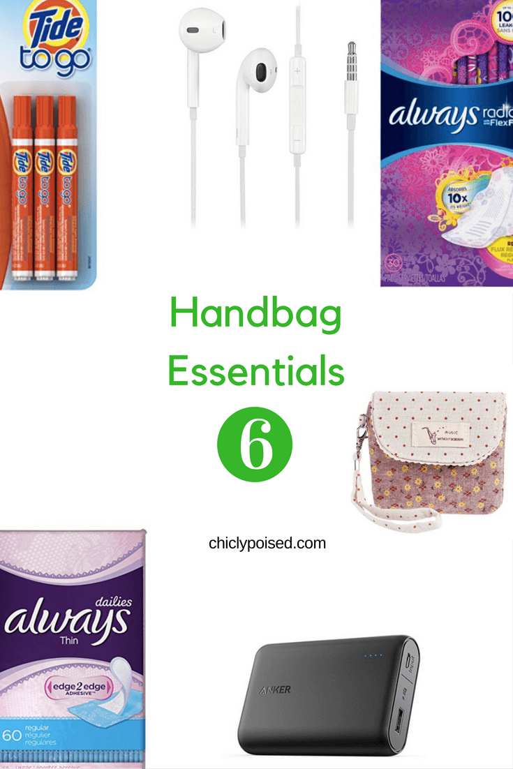 The Best Essentials For Your Handbag | Always Pads | Chiclypoised.com