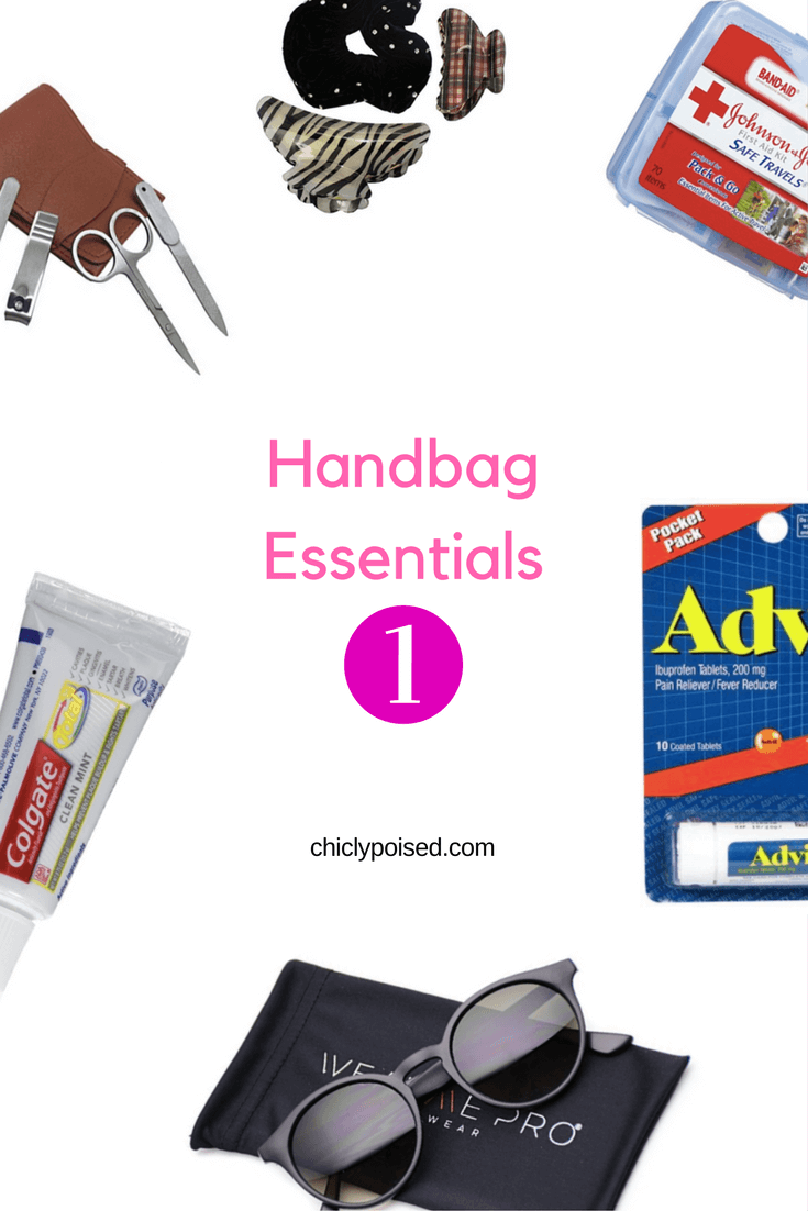The Best Essentials For Your Handbag | Black Sunglasses | Chiclypoised.com