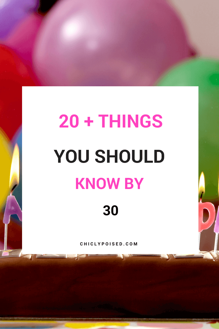 Be Aware Of These Harsh Realities Before Turning 30 | Chiclypoised.com