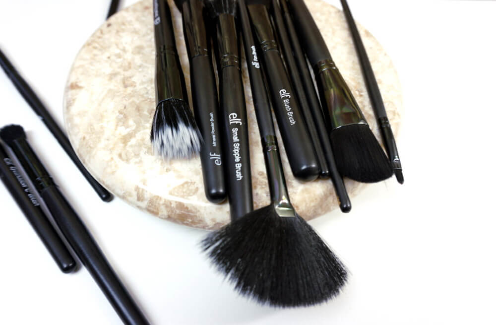 Eyes Lips Face E.L.F. - e.l.f. Brushes - ELF Cosmetics Is College Budget Friendly | Chiclypoised | Chiclypoised.com