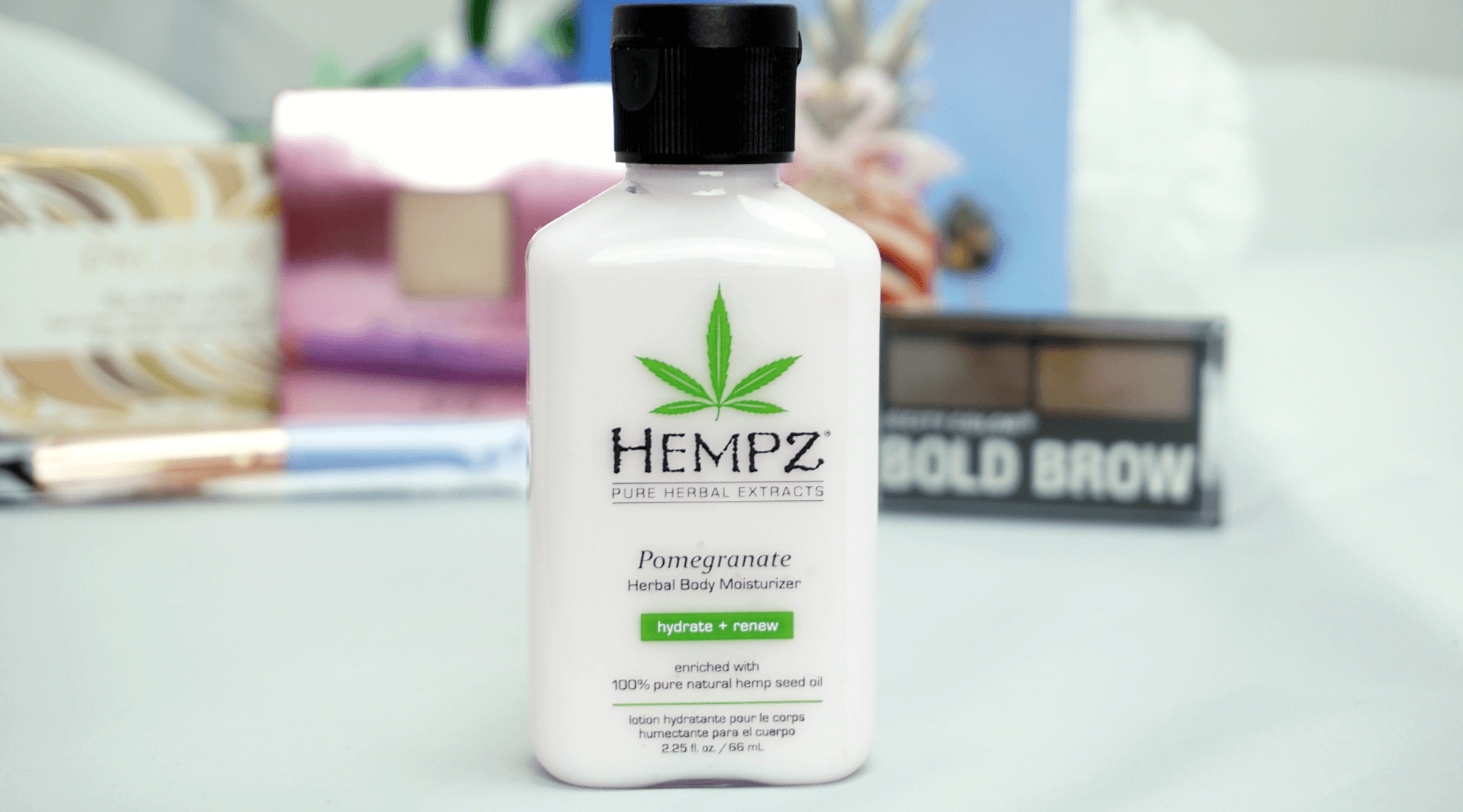 My Thoughts On May 2017 Ipsy Bag | Hempz Pomegranate Herbal Body Moisturizer Chiclyposed | Chiclypoised.com