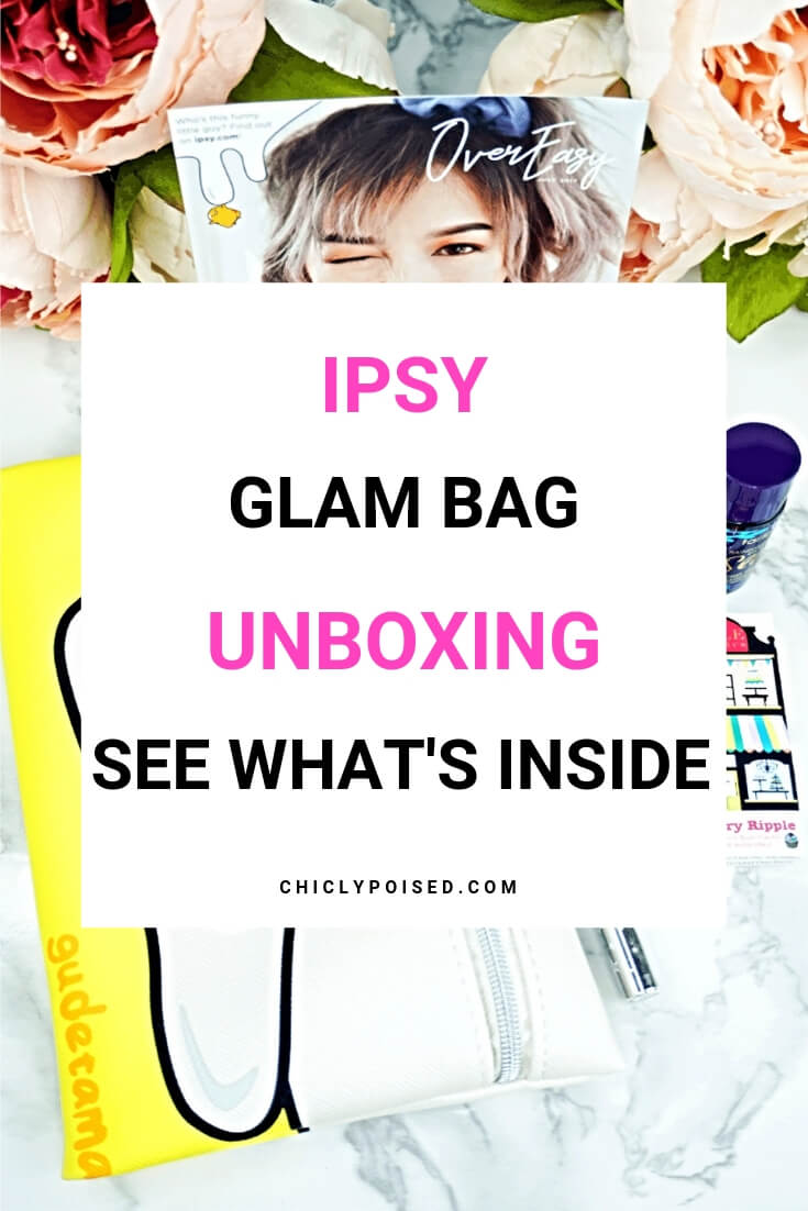 Ipsy Reviews July 2017 Ipsy Glam Bag-4