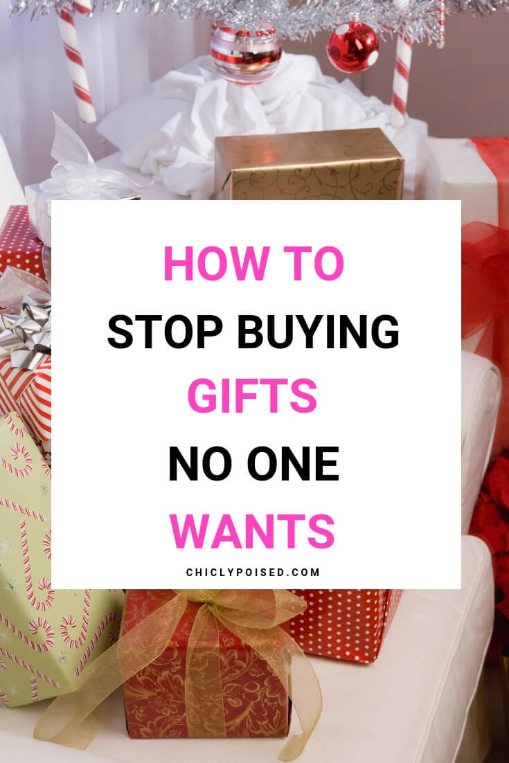 How To Stop Buying Gifts No One Wants Save Money and Time Instead