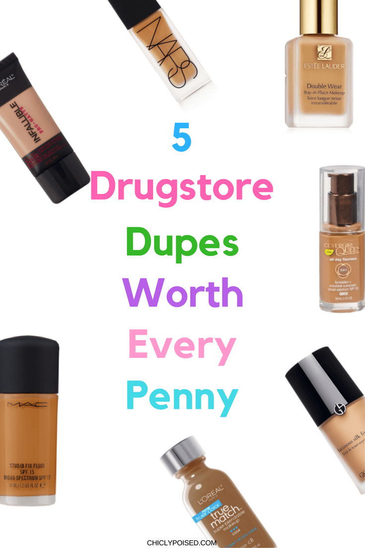 Best Drugstore Foundations Dupes Under 10 Dollars Page 7 Of 7 Chiclypoised