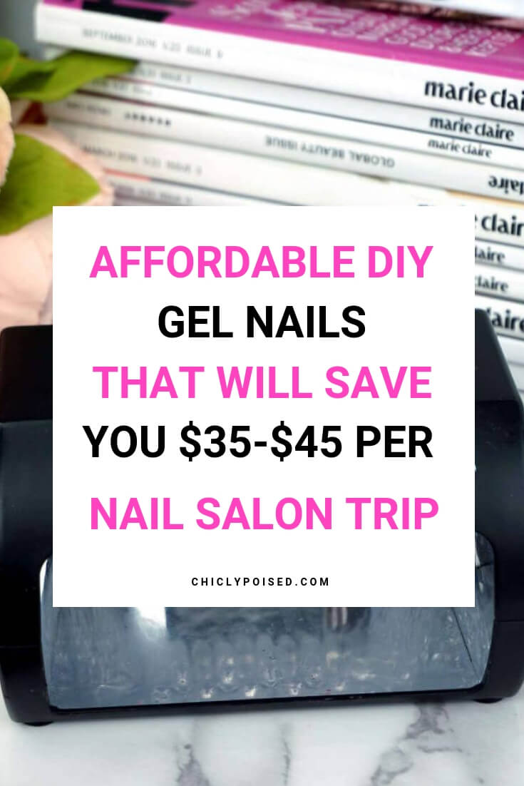 Affordable DIY Gel Manicure Products That Will Save You $35 To $45 Per Nail Salon Trip