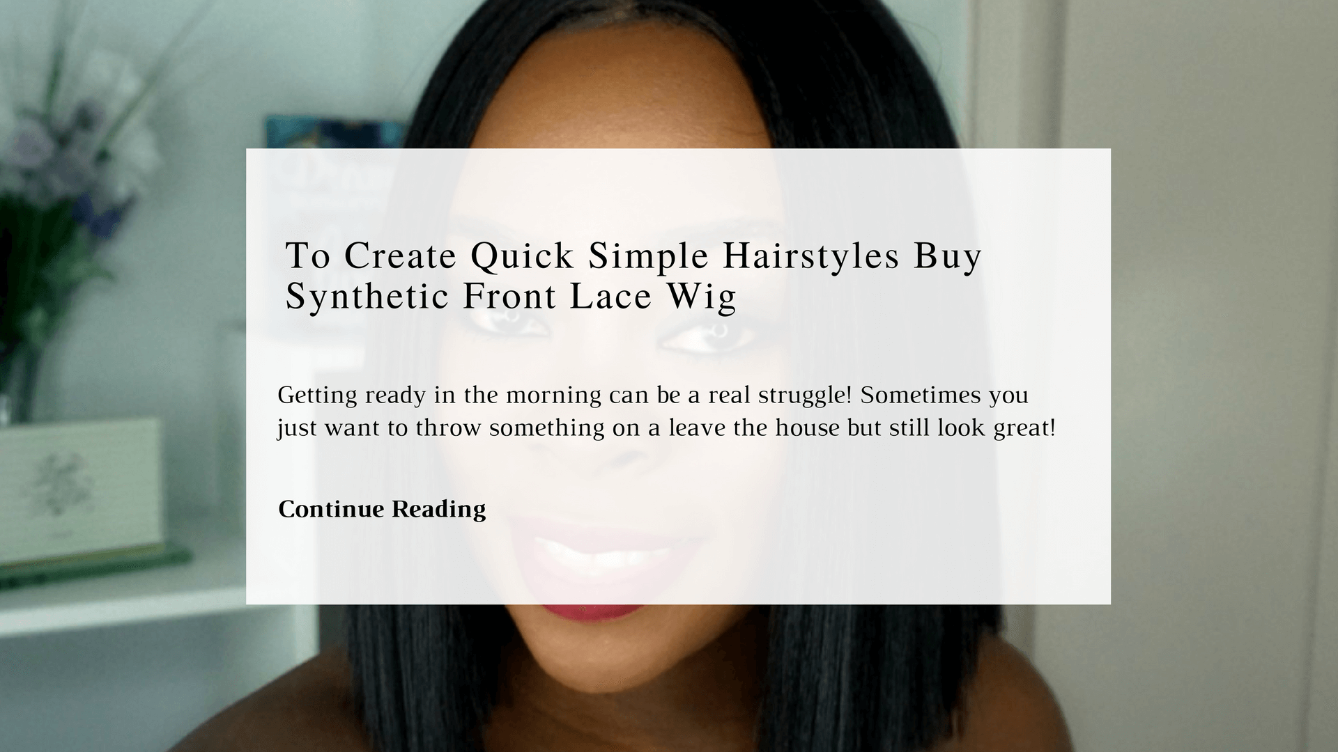 Buy Cheap Synthetic Front Lace Wig To Create Quick Simple Hairstyle | Chiclypoised | Chiclypoised.com