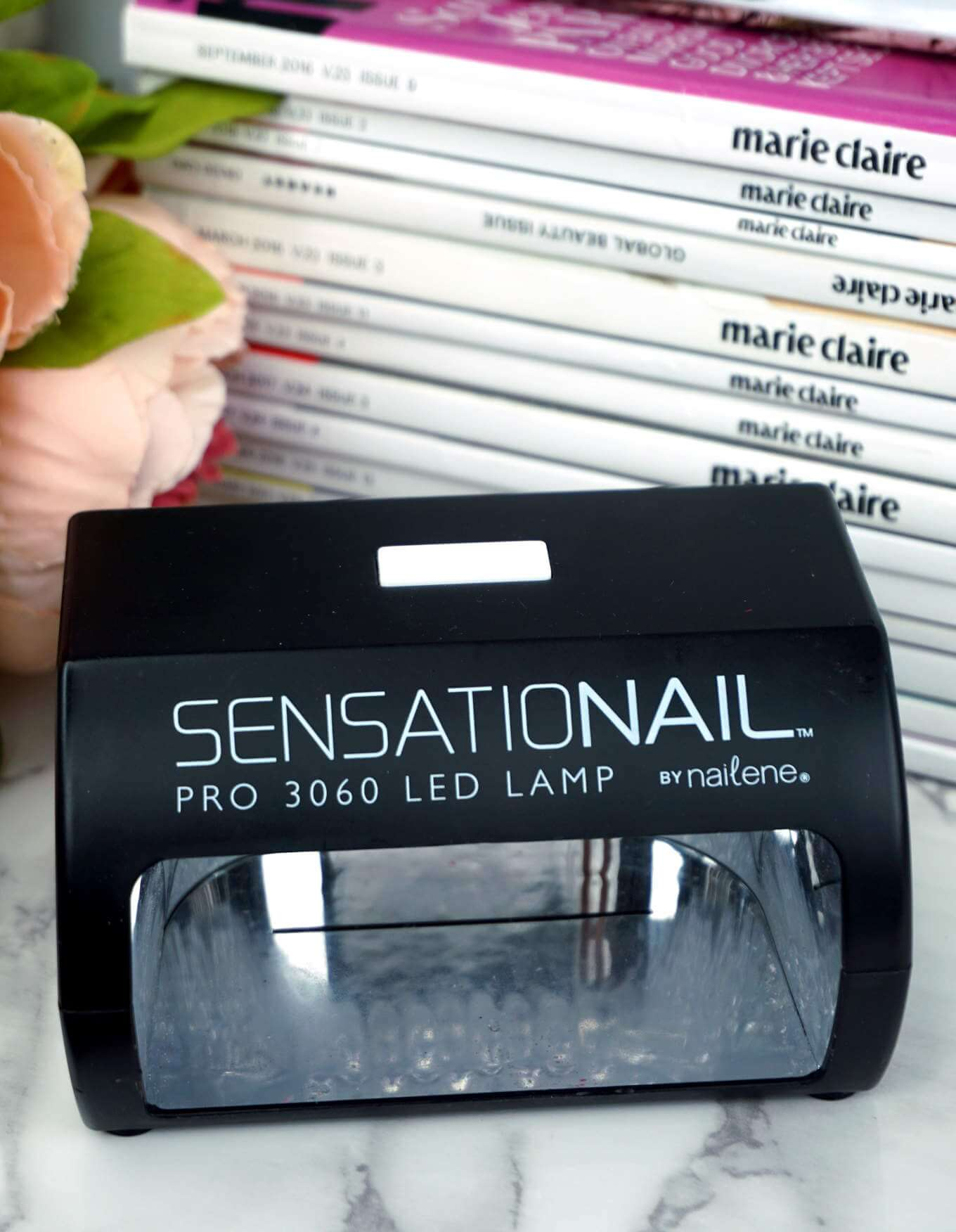SensatioNail Nail PRO 3060 Led Lamp By Nailene | Must Have Products For DIY Gel Manicure | Chiclypoised | Chiclypoised.com