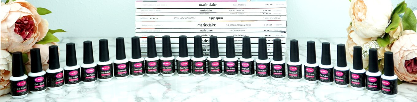 Ultimate DIY Gel Manicure Guide | CLAVUZ Gel Nail Polish 24 Set| Chiclypoised | Chiclypoised.com