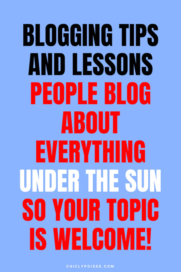 Blogging Truths and Blogging Tips - 1
