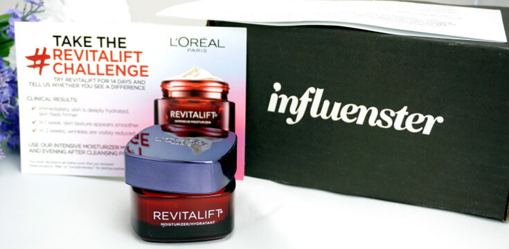 Get Free Items From These Companies | Influenster Voxbox L'Oreal Paris Revitalift | Chiclypoised.com