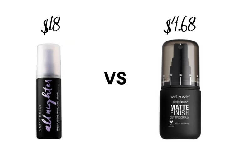Best Drugstore Makeup Dupes | Setting Spray Dupes 1 of 3
