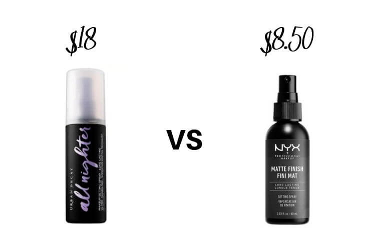 Best Drugstore Makeup Dupes | Setting Spray Dupes 3 of 3