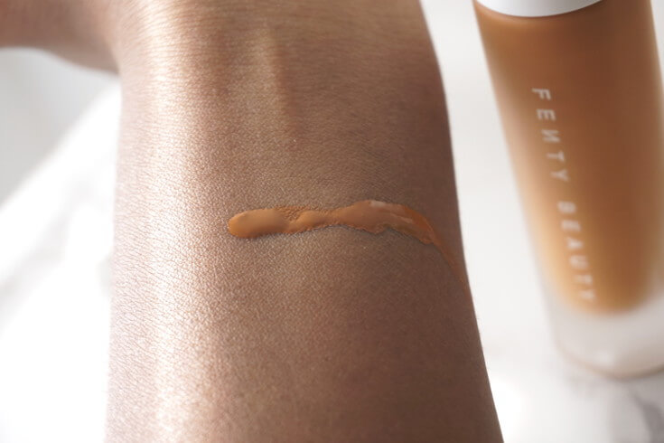 Fenty Foundation in Shade 430 | Chiclypoised.com