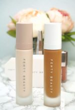 Fenty Primer and Foundation | Chiclypoised.com