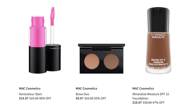 Huge Discount On Mac Cosmetics At Nordstrom Rack Online | Chiclypoised.com