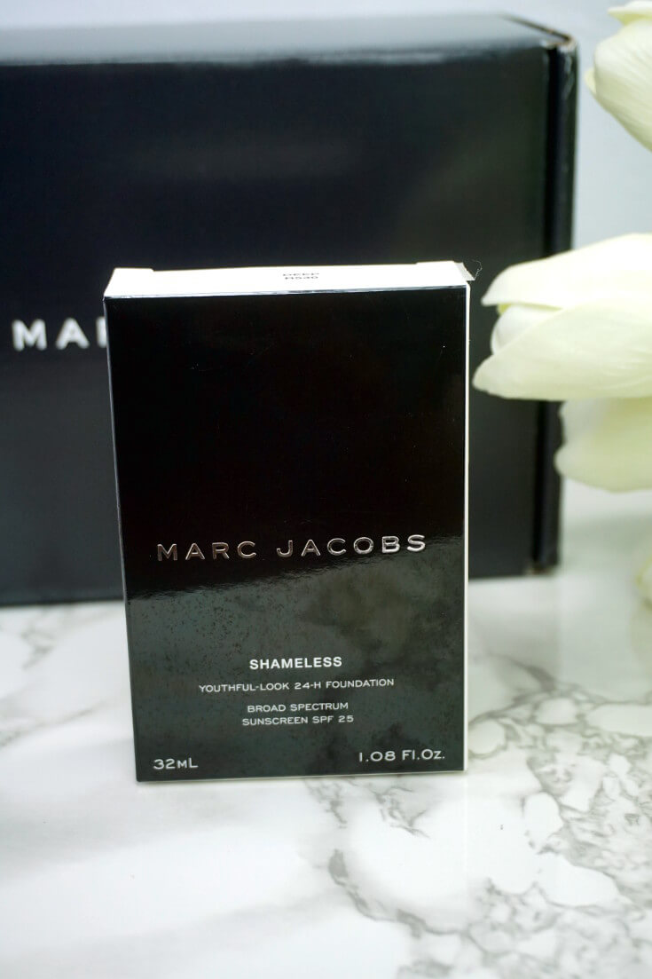 Marc Jacobs Shameless Foundation R530 | Chiclypoised.com