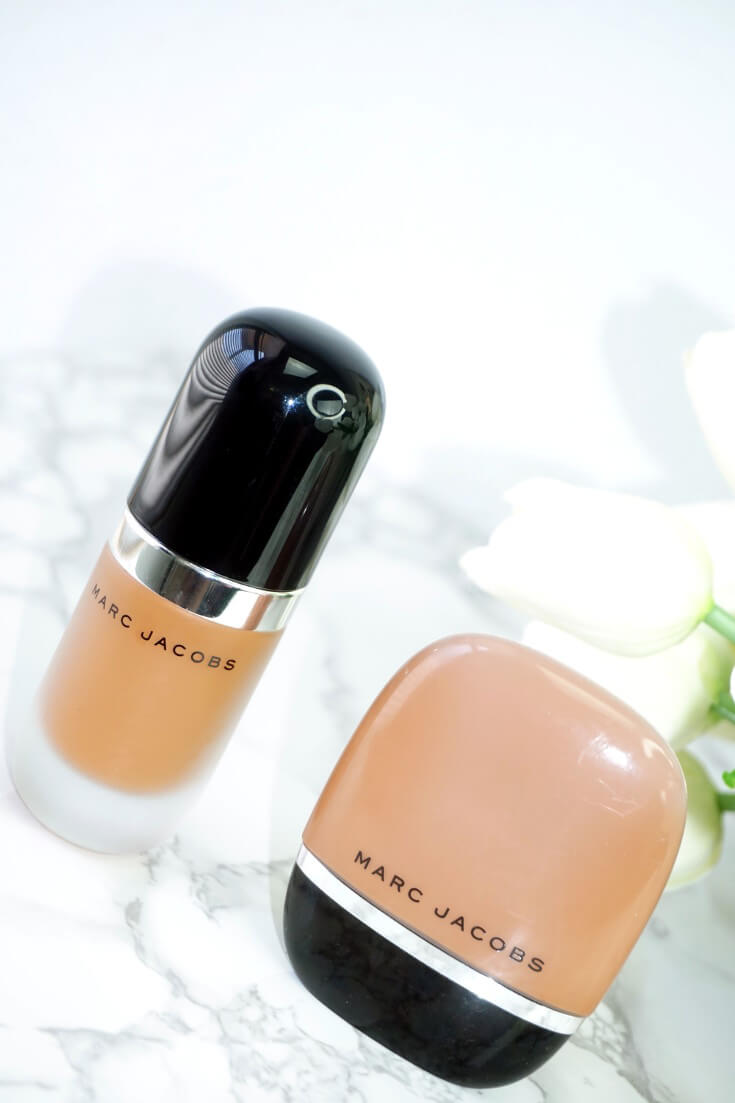 Marc Jacobs Shameless Foundation Vs Marc Jacobs Remarcable Foundation