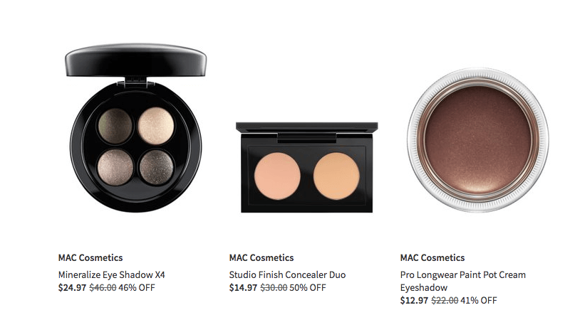 Up to 50% Off On Mac Cosmetics Makeup At Nordstrom Rack | Chiclypoised.com