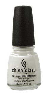 30 White Nail Polishes Under 10 Dollars | China Glaze Nail Polish, White On White | Chiclypoised.com