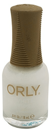 30 White Nail Polishes Under 10 Dollars | Orly Nail Lacquer French Man, White Tip | Chiclypoised.com