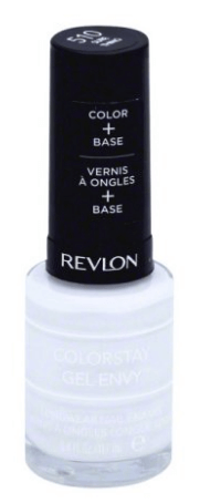 30 White Nail Polishes Under 10 Dollars | Revlon Colorstay Gel Envy in Sure Thing | Chiclypoised.com