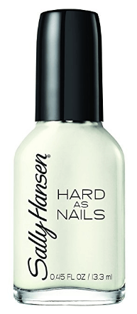 30 White Nail Polishes Under 10 Dollars | Sally Hansen Hard As Nails Color Hard To Get | Chiclypoised.com