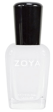 30 White Nail Polishes Under 10 Dollars | ZOYA Nail Polish Purity | Chiclypoised.com