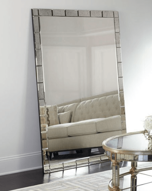 Improve Your Home Decor and Instagram Game With A Floor Mirror | Benedict Floor Mirror | Chiclypoised.com