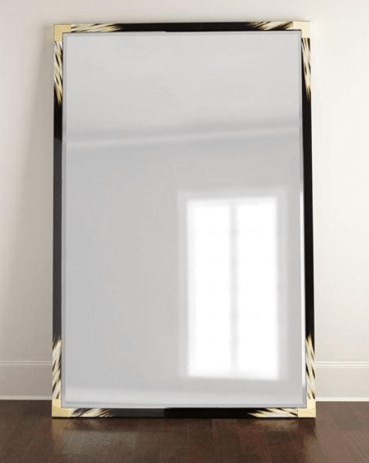 Improve Your Home Decor and Instagram Game With A Floor Mirror | Blaise Floor Mirror | Chiclypoised.com