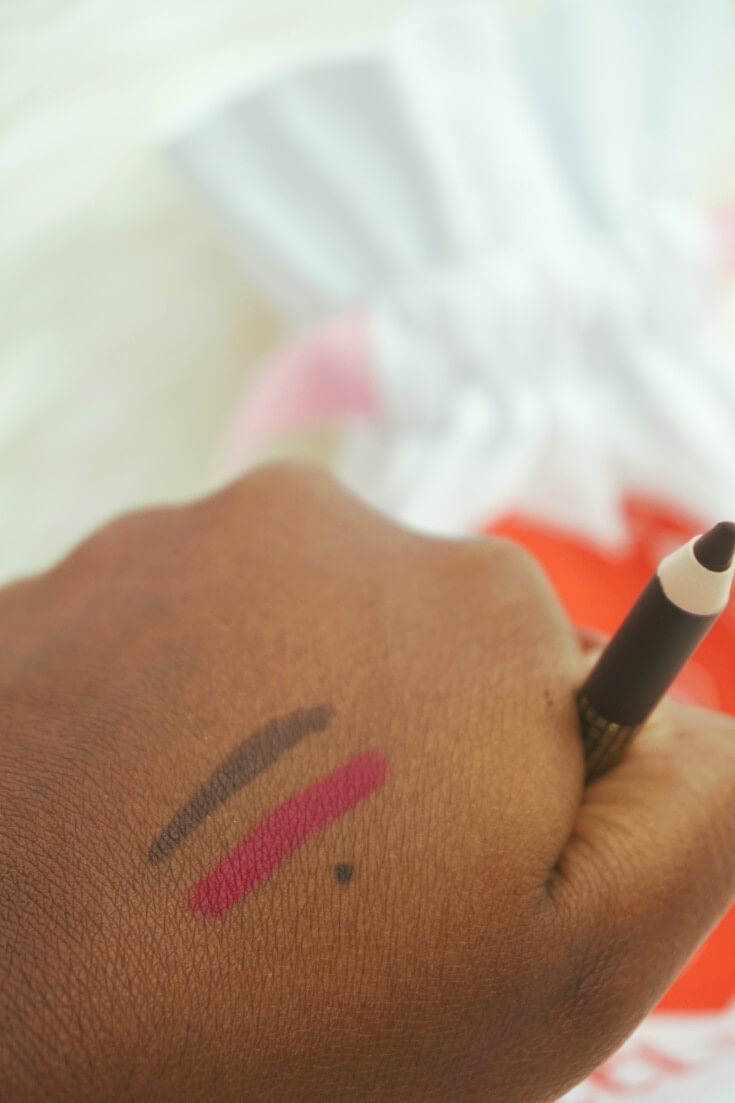 Lancome Drama Liqui-Pencil Longwear Eyeliner Swatched | Chiclypoised.com