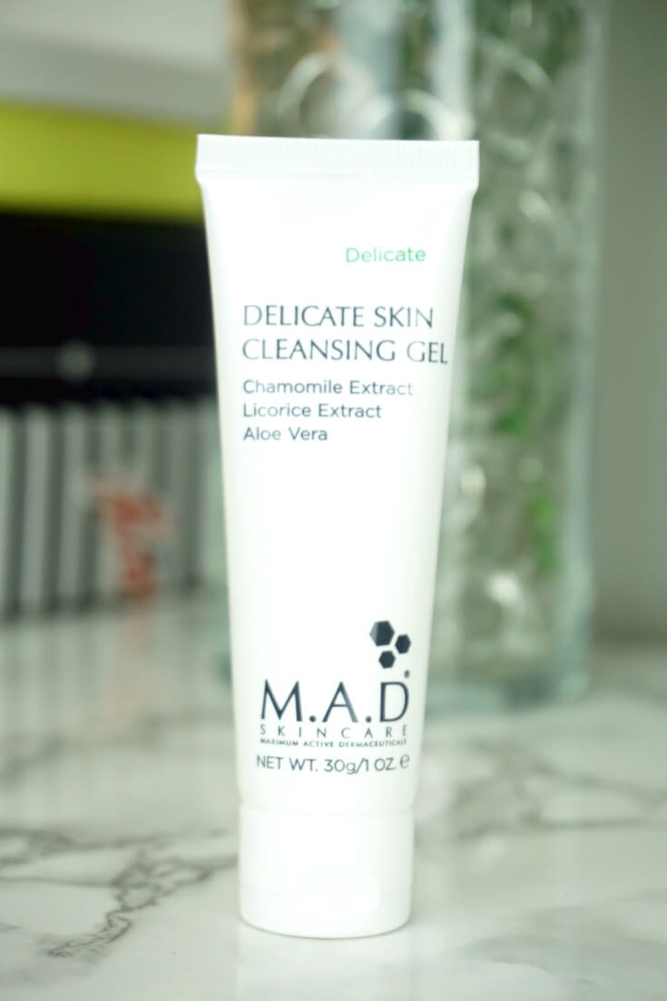 M.A.D. Skincare Delicate Skin Cleansing Gel | Chiclypoised.com