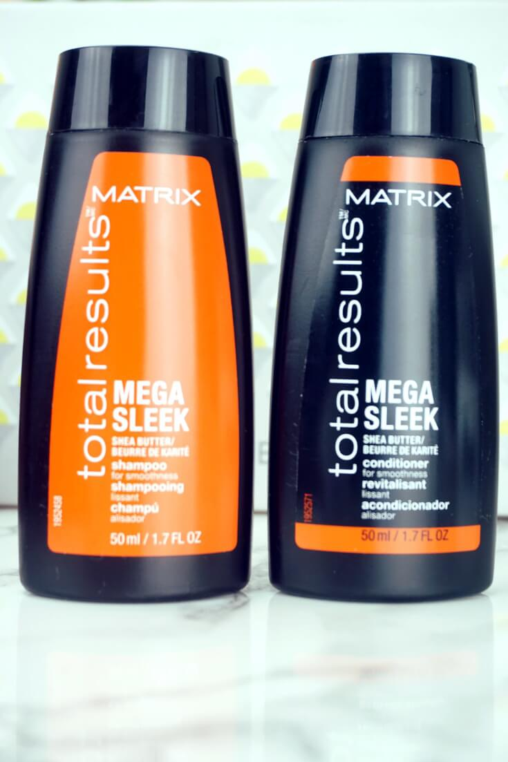 Matrix Total Results Mega Sleek Conditioner and Shampoo Review | Chiclypoised Reviews