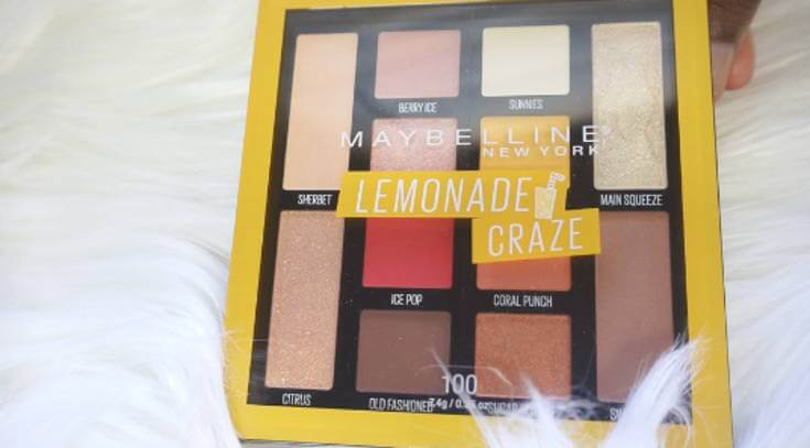 Maybelline Lemonade Craze Drugstore Eyeshadow | Chiclypoised.com