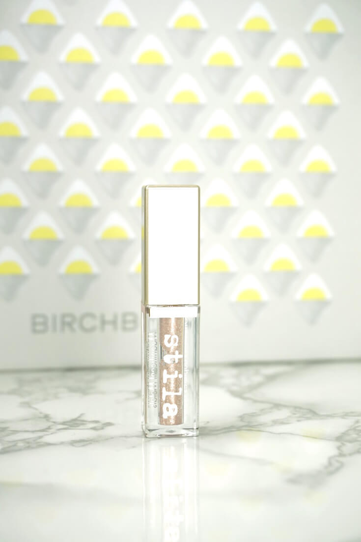 Stila Cosmetics Glitter & Glow Liquid Eye Shadow Review | Chiclypoised Beauty Reviews