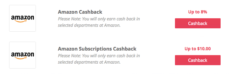 Amazon TopCashBack Cashback Offers | Chiclypoised.com
