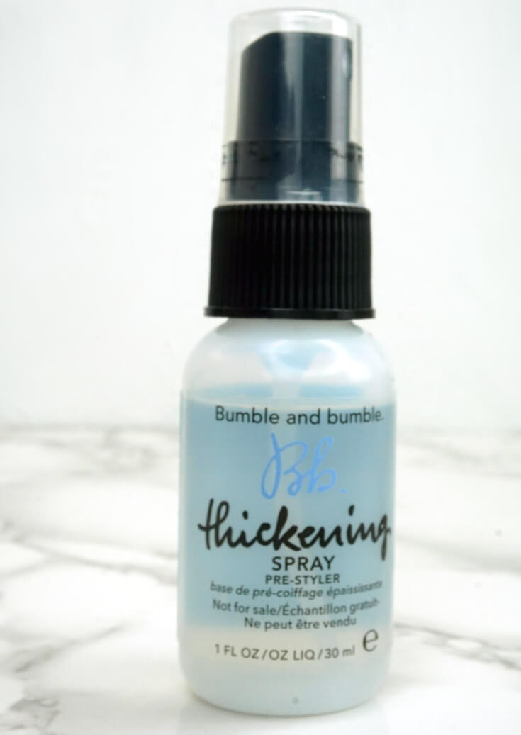 Bumble and Bumble Thickening Hairspray Review | Chiclypoised.com