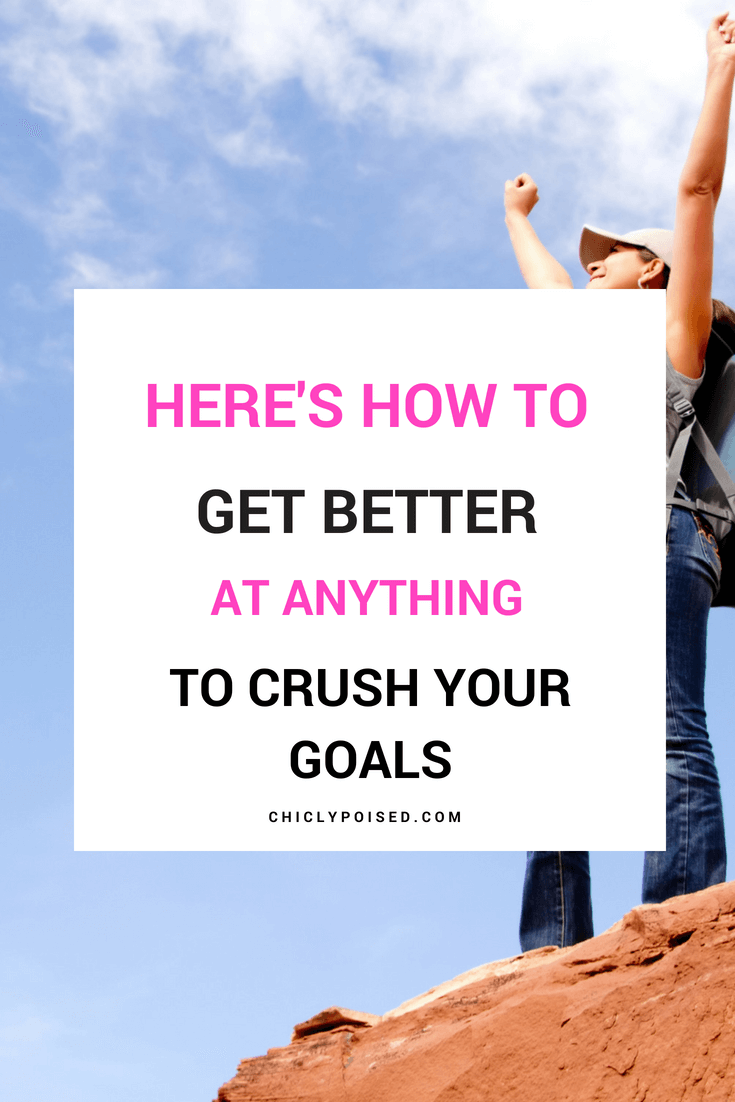 Here's How To Crush Your Goals This Year | Chiclypoised.com