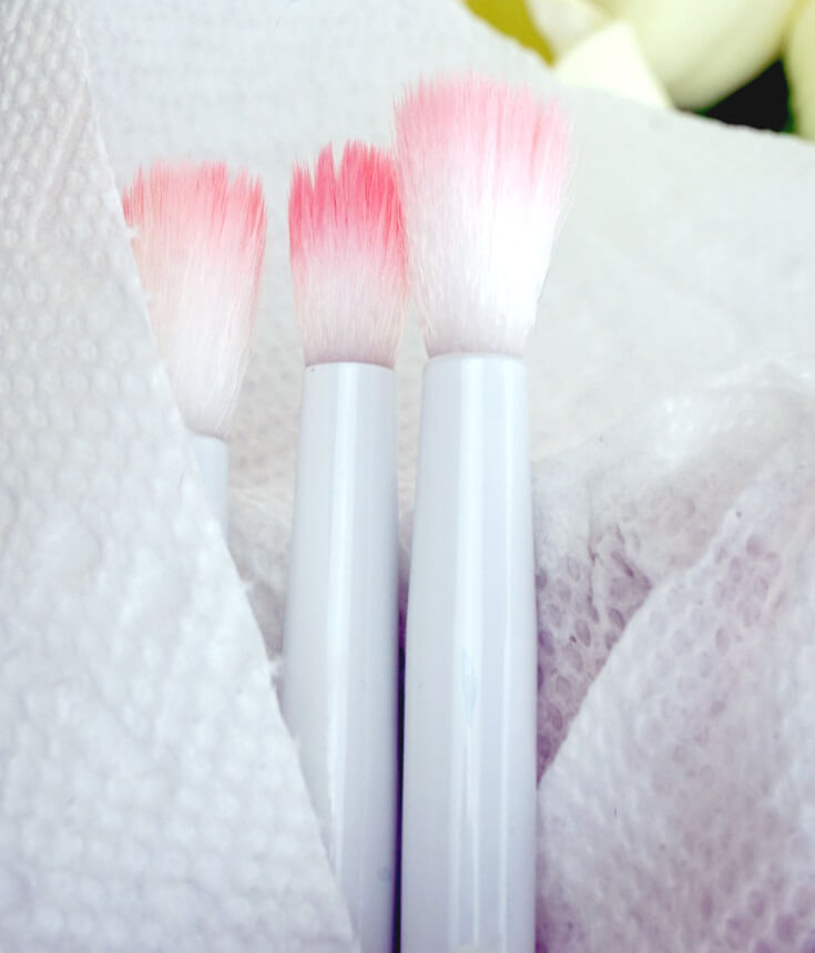 Wet N Wild White And Pink Eyeshadow Crease Brush Is Pretty Damn Good For 99 Cents | No Shredding | Chiclypoised.com