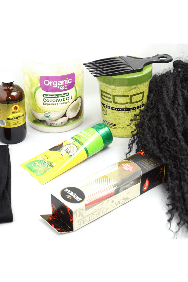 5 Hair Essentials To Handle The Initial Natural Hair Big Chop Shock | Chiclypoised.com