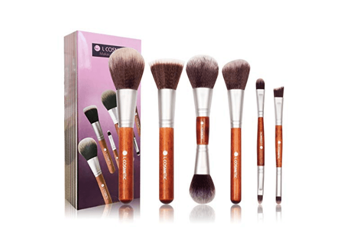 Double Ended Makeup Brush Set