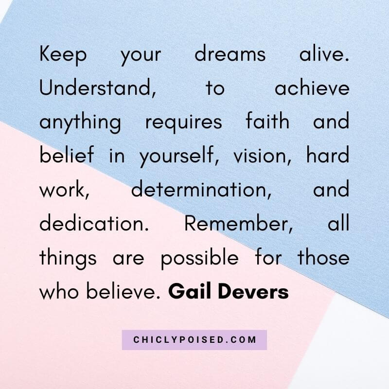 Dream Chaser Quote By Gail Devers 6 of 10