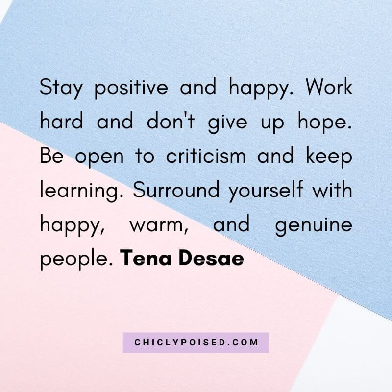 Dream Chaser Quote By Tena Desae 8 of 10