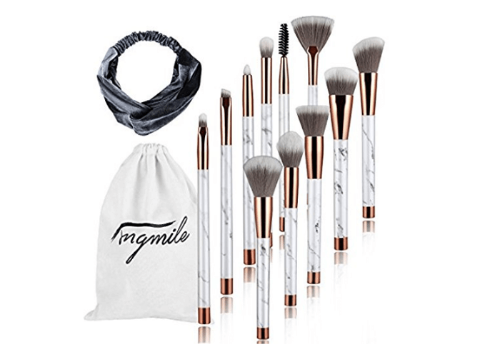 Marble Makeup Brushes Makeup Brushes Set | Chiclypoised.com